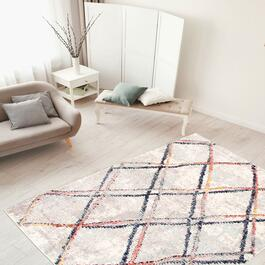 eCarpetGallery Morocco Abstract  Ivory Rug