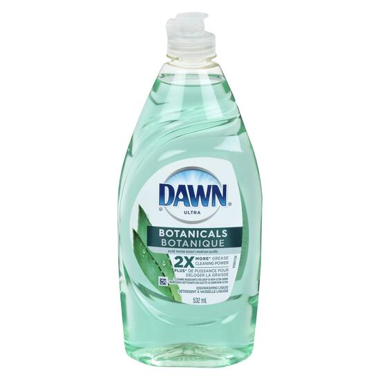 Dawn Ultra Botanicals Aloe Water Dish Soap - 532ml