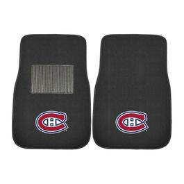 NHL Montreal Canadiens Embroidered Car Mat Set - 2pc.