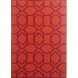 Mad Mats Citrus Indoor/Outdoor Carpet - Red/Orange