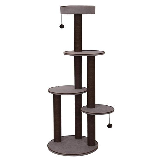 Pet Pals Grey Canyon 4-Level Cat Tree