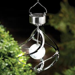 Spinner Solar LED Wind Chime