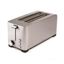 Salton Space Saving Long Slot  Electronic Toaster - 4 Slice
