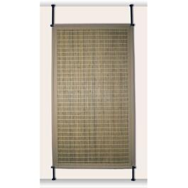 Versailles Driftwood Green Bamboo Privacy Panel - 68in.