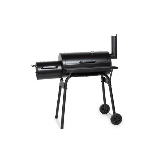Serenity Bay Black Outdoor Charcoal Smoker