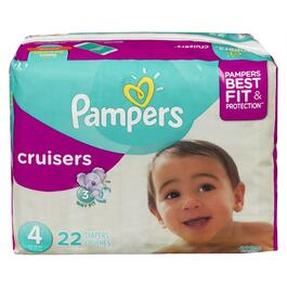 Pampers Cruisers Size 4 Diapers - 22pk.
