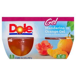 Dole Mandarins in Orange Gel 4pk. - 492g