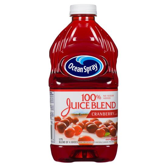 Ocean Spray 100% Cranberry Juice Blend - 1.7L