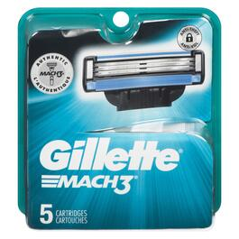 Gillette Mach 3 Cartridge Refills - 5pk.
