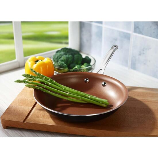 Brentwood Copper Induction Non-Stick Pan - 11.5in.