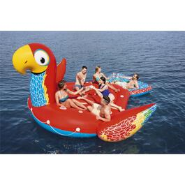 Giant Parrot Island Pool Float