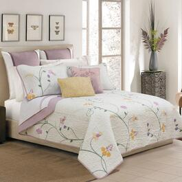 Safdie & Co. Serenade Twin Premium Quilt Set - 2pc.