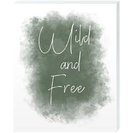 Wild and Free - 16in. x 20in.