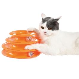 Cat Track Toy with LED Ball