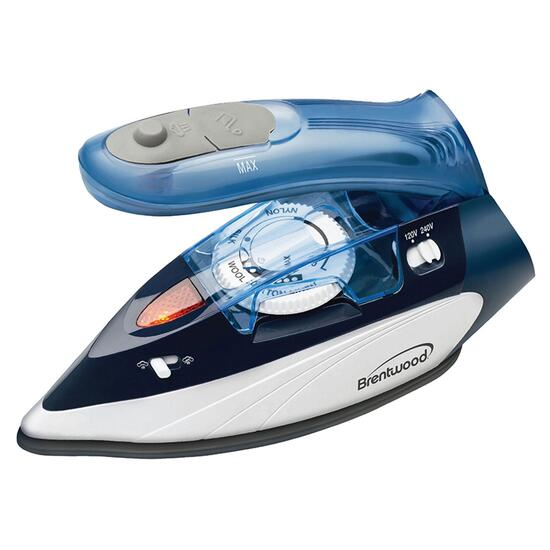 Brentwood Travel Iron with Steamer