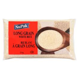 NuPak White Rice Long Grain - 2kg