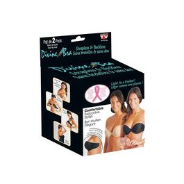 As Seen On TV Divine Adhesive Bra, D Cup - 2pc.