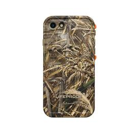 LifeProof FRE Case for iPhone 8 - Realtree Max5 Orange
