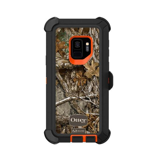 OtterBox Defender Samsung GS9 - Real Tree Blaze Edge