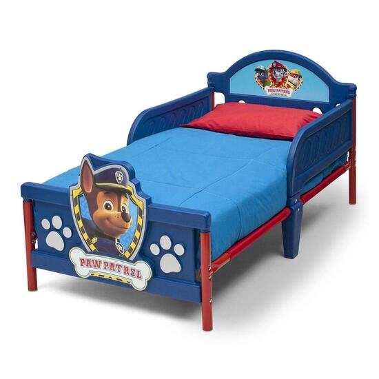 Nick Jr. Paw Patrol 3D Toddler Bed