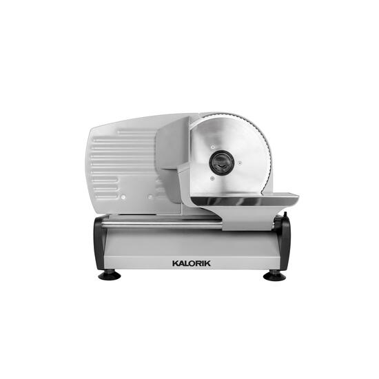 Kalorik 200 Watts Silver Professional Food Slicer