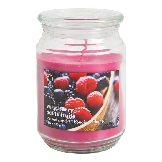 Very Berry Jar Candle - 18oz.