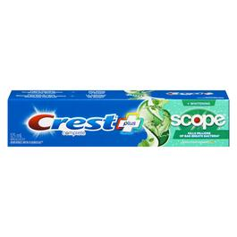 Crest Complete Whitening and Scope Toothpaste - 125ml