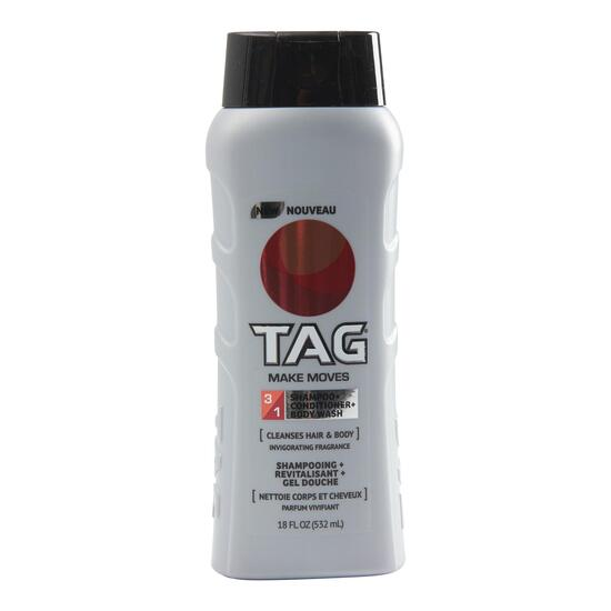 TAG Men's 3-in-1 Make Moves Wash - 510g