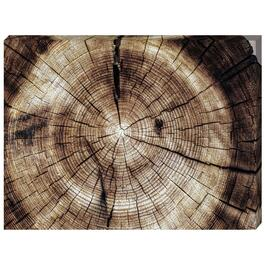 Log Grains Canvas Art - 24in. x 18in.