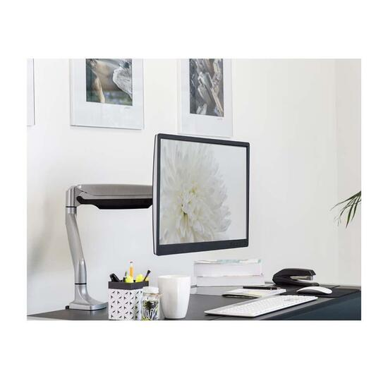 Mount-it! Height Adjustable Monitor Desk Mount with Full Motion Arm