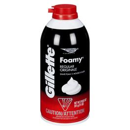 Gillette Men's Foamy Regular Shave Foam - 311g