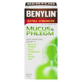 Benelyn Extra Strength Mucus and Phlegm Syrup - 100ml