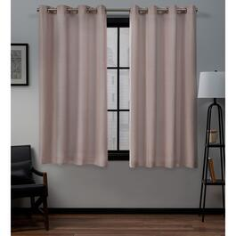 Exclusive Home Loha Curtain Panels - 63in.