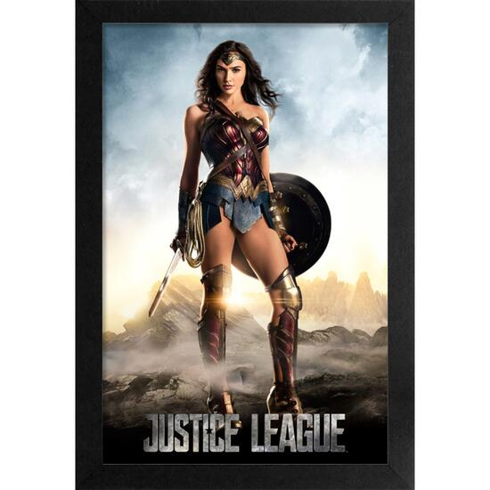 DC Wonder Woman Framed Print - 19in.