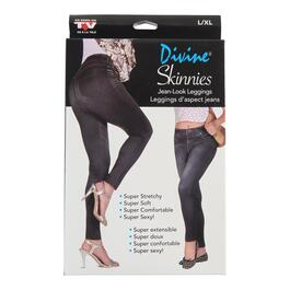 As Seen on TV Black Divine Skinnies - XXL