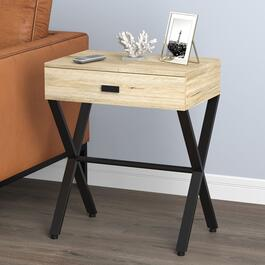 Safdie & Co. Reclaimed Wood Accent Table