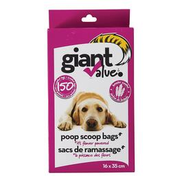 Giant Value Lavender Scented Poop Bag - 150pk.