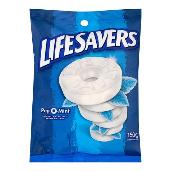 Life Savers Pep-O-Mint Candy - 150g