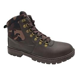 Mountain Ridge Men's Brown Rugged Camo Hiker Boots - 7-12