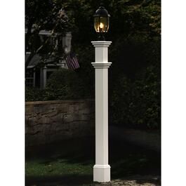 New England Arbors Portsmouth Lamp Post
