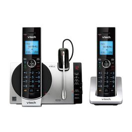 VTech 2-Handset DECT 6.0 Cordless Phone with Bluetooth and Caller ID - Silver