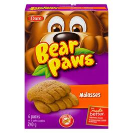 Bear Paws Soft Molasses Cookies - 240g