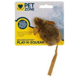 Pet Zone Play'n Squeak Mouse Hunter Cat Toy