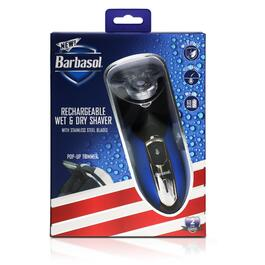 Barbasol Rechargeable Wet and Dry Shaver