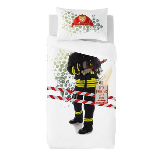 Gouchee Design Fireman Duvet Cover Set - Twin