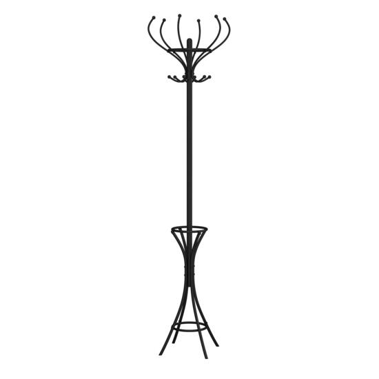 Safdie & Co. Black Metal Coat Rack