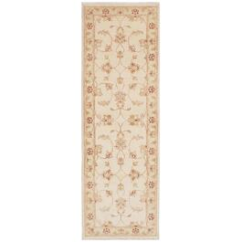ecarpetgallery Hand-Knotted Cream Chubi Collection Rug - 7.11ft.