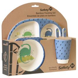 Safety 1st Bamboo Feeding Set - Dino