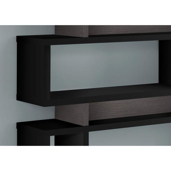 Monarch Specialties Modern Style Bookcase - 55in.