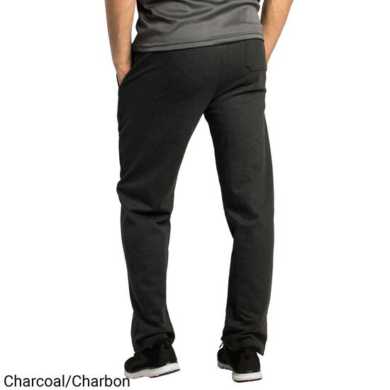 Mountain Ridge Men's Charcoal Fleece Pants with Hemmed Ankle - S-XL